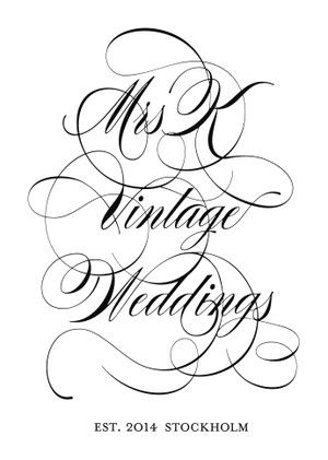 Mrs K Vintage Weddings