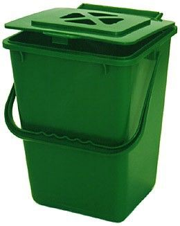 kitchen compost bin kitchen composter hinged top with carbon filter