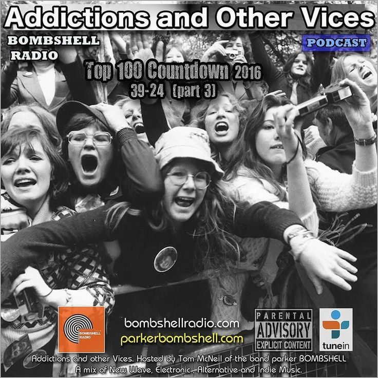 Top 100 Countdown #thisweekend #radioshow #bombshellradio #indie #addictionspodcast #dj Back tonight with part three of our Bombshell Radio Top 100 Countdown. We have a lot of new things planned this year guest DJ's a few new shows have been given the green light. Speaking of guest DJ's have you checked out the new Best of 2016 by Rodney Cromwell highly recommend you check that out here on Bombshell Radio. bombshellradio.com Part Two  started  Saturday January 7th at 6:00 AM - 8:00 AM EST…