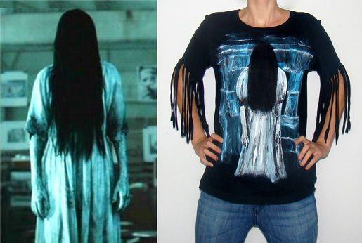 Bluzka z Samarą Morgan - dziewczynką z Ringa (kliknij w foto po więcej!)