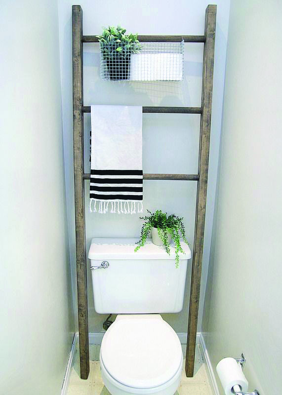 15 Brilliant Over The Toilet Storage Ideas That Make The Most Of Your Space With Images Bathroom Storage Over Toilet Bathroom Makeover Toilet Shelves