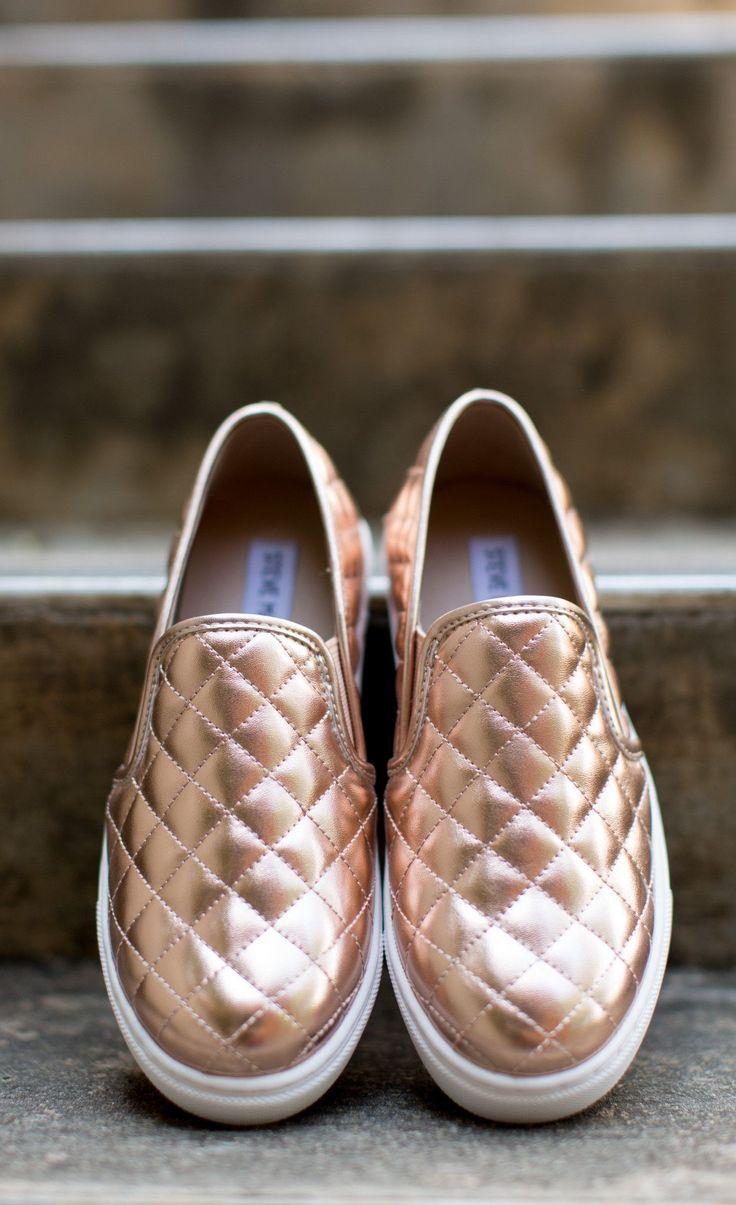 Steve Madden - Shoe - Steve Madden Ecentrcq Sneaker - Rose Gold - Cheeky Peach Boutique - 2