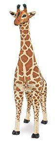 Melissa & Doug Giraffe - Plush: Amazon.co.uk: Toys & Games