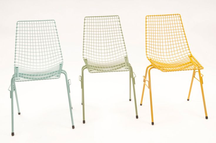 Garden chair designed by Henryk Sztaba in 1968. The replica is now available on www.mamsam.pl   #design #poland #polska