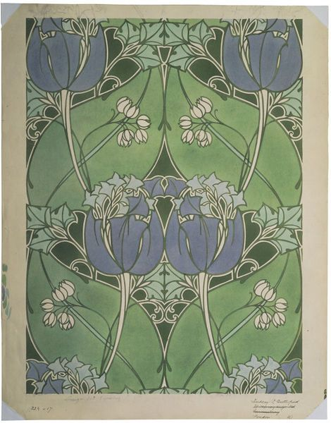 Best Arts Crafts Movement Patterns Images On Pinterest - Arts and crafts fabric patterns