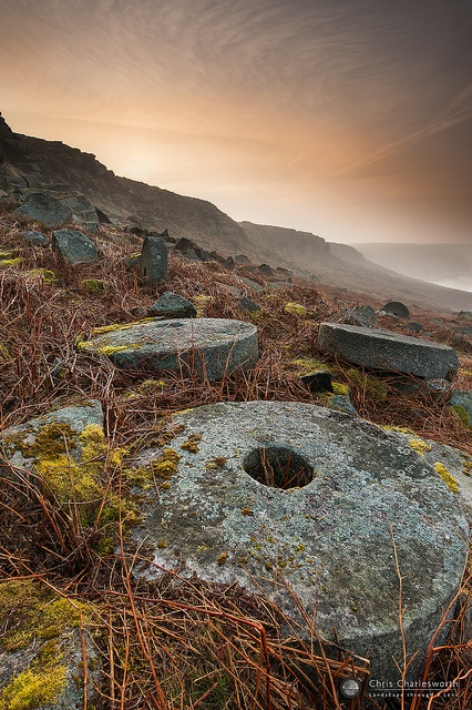 Peak District, Stanage Edge Glow by Chris Charlesworth Photography, via Flickr