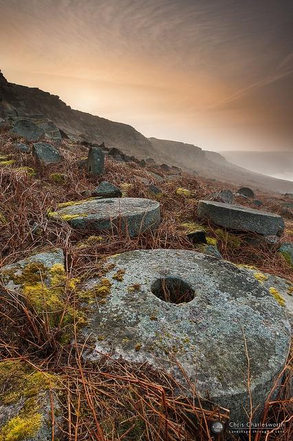 Peak District, Stanage Edge Glow by Chris Charlesworth Photography, via Flickr