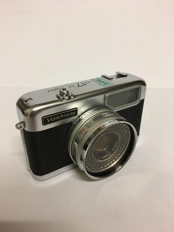 YASHICA Half 17 EE - Rapid Kamera mit Bedienungsanleitung 1:1,7 f=3,2 cm   eBay