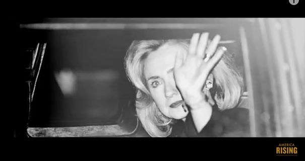 WATCH!  The Video That Could (and should) Rock  Hillary Clinton's Campaign OFF ITS FOUNDATION!