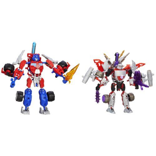 Transformers Construct-Bots Optimus Prime Vs. Megatron Construction Set for $11.99