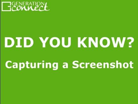 There are so many realistic applications for saving a screenshot on your iPad or iPhone - watch the video to get the wheels spinning!