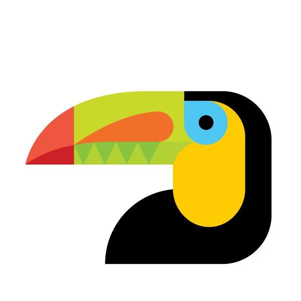 Audubon Beaks illustrations by Always With Honor.