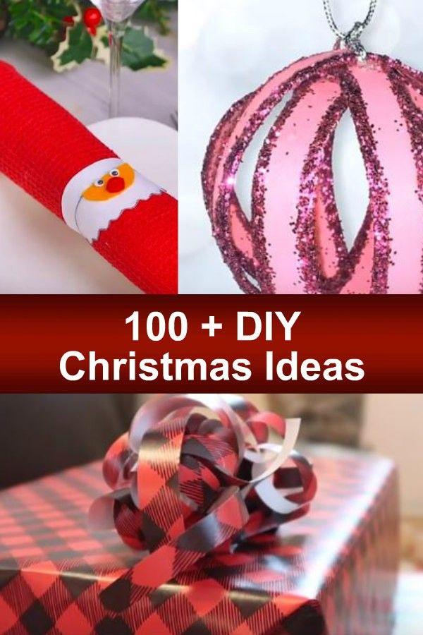 100 Diy Christmas Ideas My Honeys Place Diy Christmas Videos Christmas Pillows Diy Christmas Diy