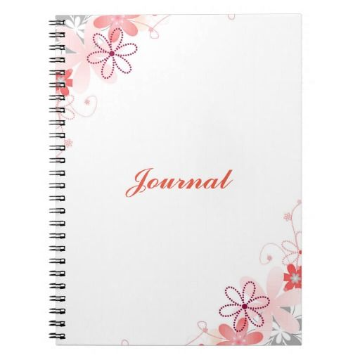 Floral Journal/Notebook