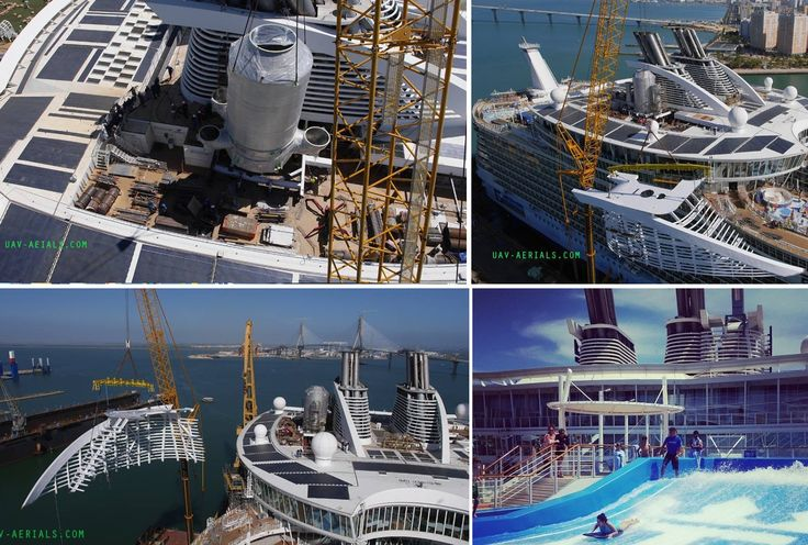 Afbeeldingsresultaat voor Oasis Allure of the seas construction