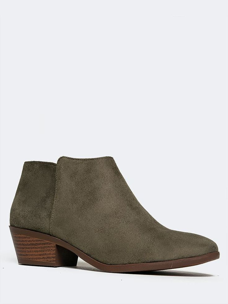 - No need to retire ankle boots yet! These are the perfect year round booties that can be used for festivals and cold weather. - Versatile, western ankle boots have a simple, sleek upper made out of v