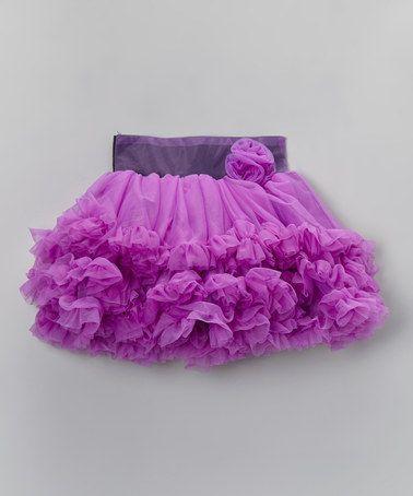 Look at this #zulilyfind! Purple Pettiskirt - Infant, Toddler & Girls #zulilyfinds
