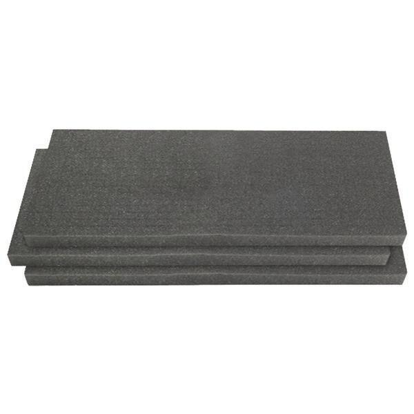 Pelican 1750-400-000 1751 3-Piece Solid Replacement Foam Set for 1750 Long Case