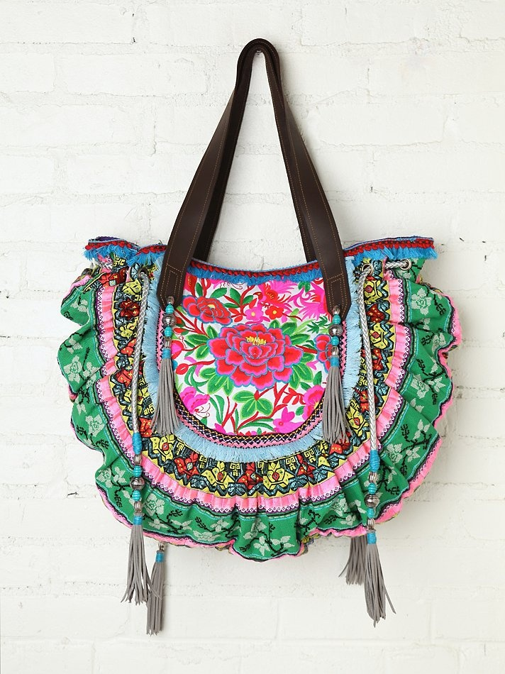 Christophe Sauvat Thai Luxury Bag at Free People Clothing Boutique