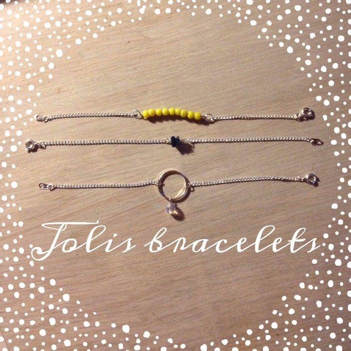 Des bracelets DIY ! #DIY #BijouxFantaisie