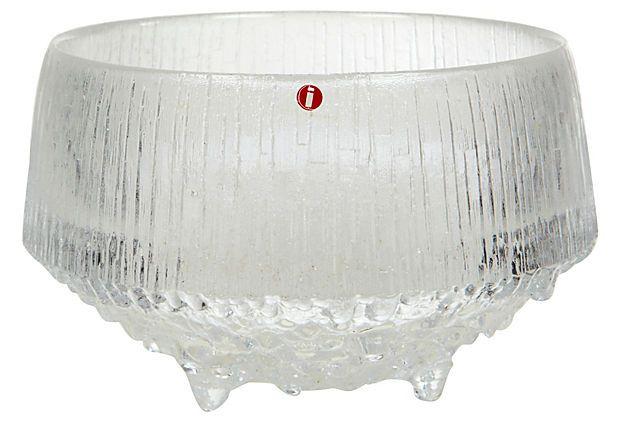 1960's Iittala Finland Glass Bowl on OneKingsLane.com