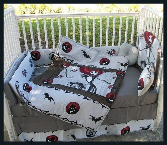 Nightmare Before Christmas crib bedding | Room Ideas for Kids ...