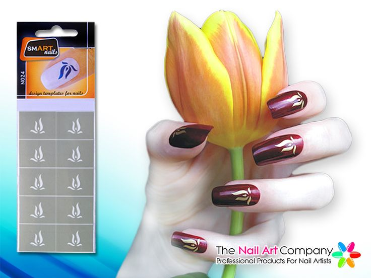 82 best stencil nailart images on pinterest vinyls nail the nail art company smart nails fire lily nail art stencil set n024 prinsesfo Images