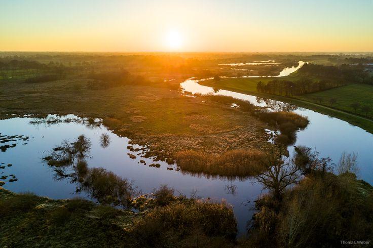 Beautiful sunset above a swamp in Lower Saxony, Germany.  Follow me on Instagram: https://www.instagram.com/phothomas.de/  #sunset #sonnenuntergang #swamp #moor #niedersachsen #lowersaxony #germany #dji #mavic #djimavicpro #multicopter #drone #water #river #romance #goodmood #nature  #photography #phothomas #photographer #oldenburg #rastede #bremen #fotograf #thomasweber