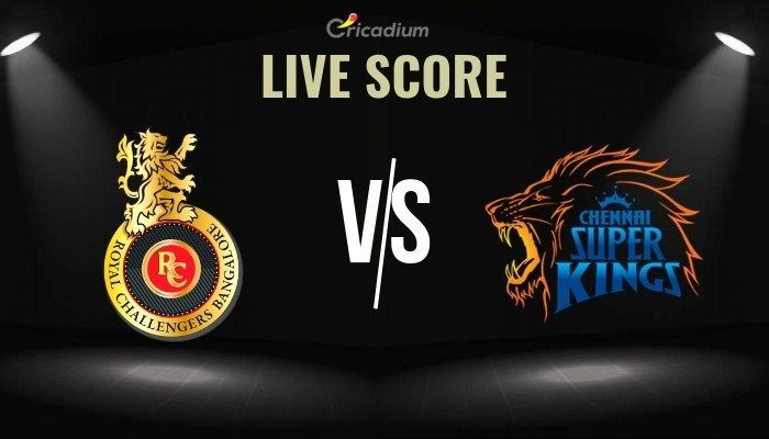 Ipl 2019 Match 39 Rcb Vs Csk Live Score Scorecard Results Ipl Chennai Super Kings Royal Challengers Bangalore