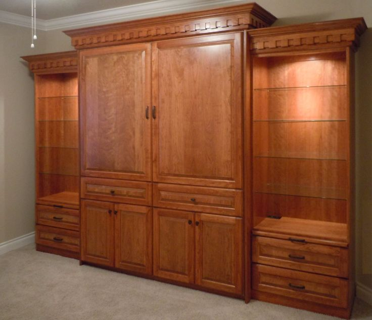 Fancy Murphy Bed Murphy bed, Bed, Custom made furniture