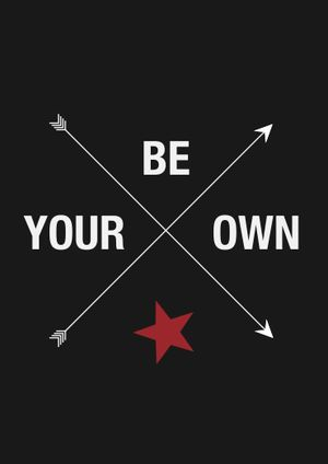 """A3 poster """"Be your own star # 2"""""""