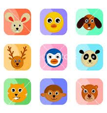 Google Image Result for http://cdn.vectorstock.com/i/composite/99,28/cute-animal-faces-vector-439928.jpg