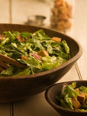 Caesar Salad with Basil!