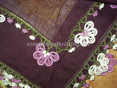 crochet edging patterns | Crochet Patterns & Free Knitting Patterns Doily Towel Edge Patterns ...