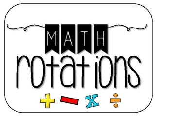 Use this resource to display math group rotations. My math groups are the names of shapes (triangle, pentagon, hexagon, octagon). This grouping system helps the students remember their shape names, but also helps me to know off the top of my head the level of each group.
