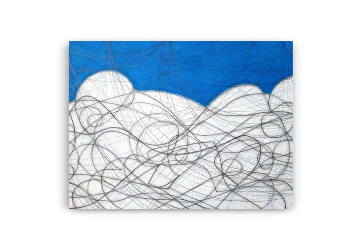 Composition With Blue II. Discover @Treniq