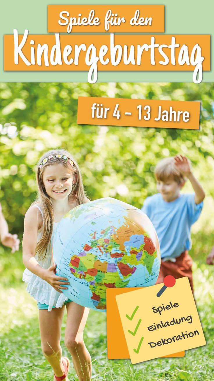 spiele für den kindergeburtstag für 4  13 jahre