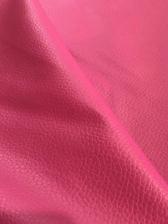 Raspberry Pink Leatherette Sheet Thin 0.6mm A4  A5 Sheets