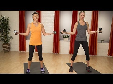 5 Minute Sculpted Arm Workout - Videos -The Cycling Bug