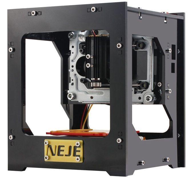 Laser Engraver Printer For Hardwood Rubber Leather NEJE DK-8-KZ 1000mW  #NEJE
