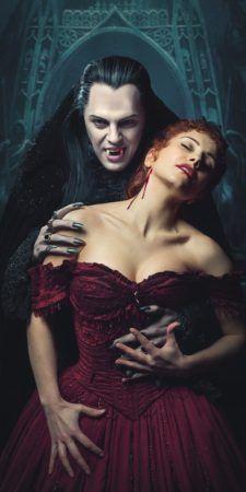 Graf von Krolock (Ivan Ozhogin - Иван Ожогин) & Sara (Elena Gazaeva - Елена Газаева). Tanz der Vampire. Бал Вампиров. Musical