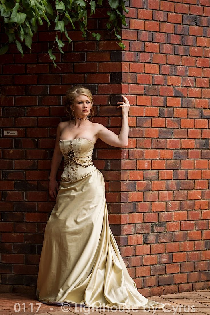 Corseted Edwardian Wedding Dress http://www.arcarocouture.com.au