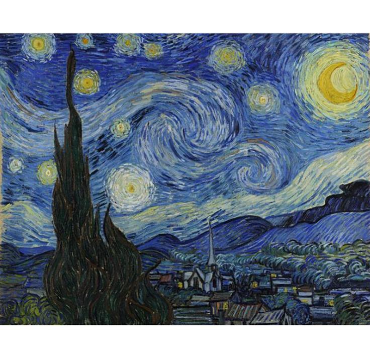 VIDA Statement Clutch - Starry Night Abstract Art by VIDA lIOMz