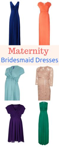 Maternity bridesmaid dresses for your pregnant bridesmaids all for under £100! A collection of the prettiest online UK maternity bridesmaid dresses and ideas for your pregnant bridesmaid.