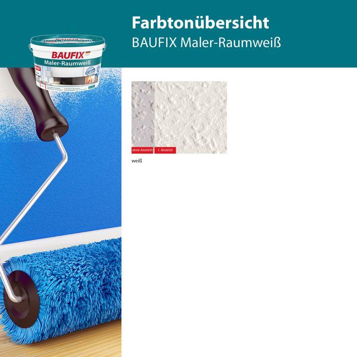 baufix maler raumwei ist eine atmungsaktive und hochdeckende dispersionsfarbe f r w nde und. Black Bedroom Furniture Sets. Home Design Ideas