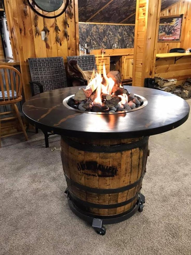 Concrete fire pits various examples barrel fire pit gas