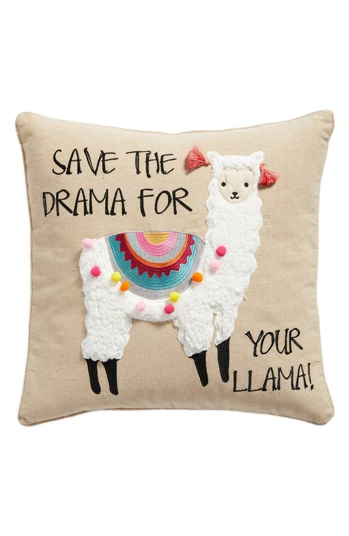 Save the Drama For Your Llama Pillow