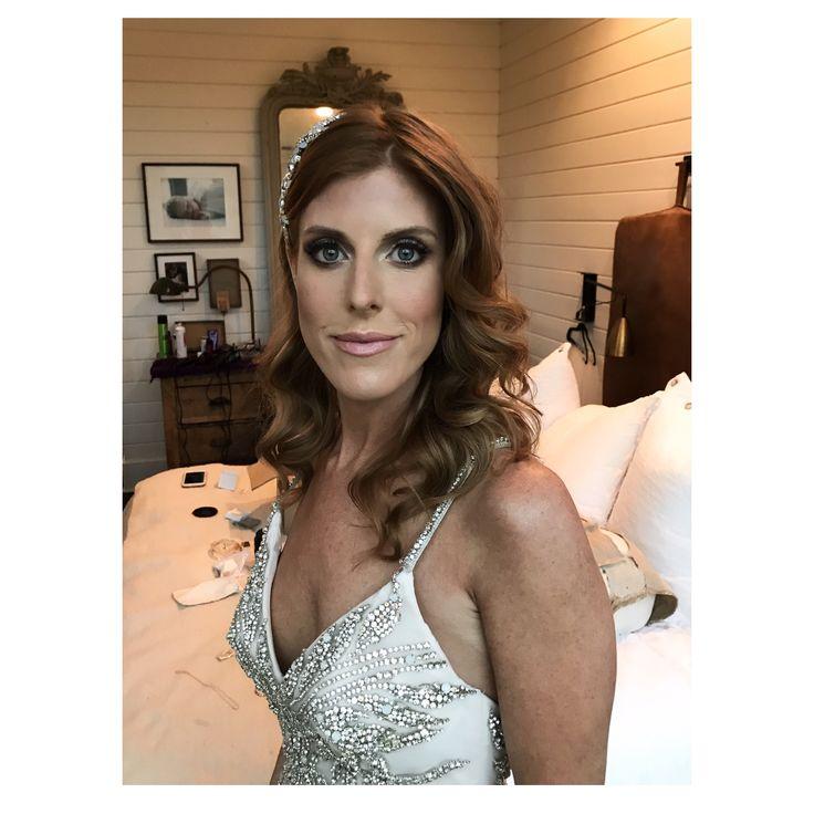 Bridal hair, down style, bridal curls, down hair style, glamorous hair, Victoria Secret Hair, bridal hair style