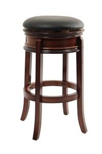 "Magellan Swivel Stool 29""/Brandy"