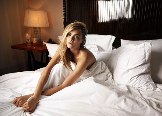In bed with Cara Delevingne, and her bunny rabbit Cecil - Fashion Videos - Telegraph
